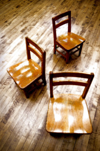 3 kid chairs
